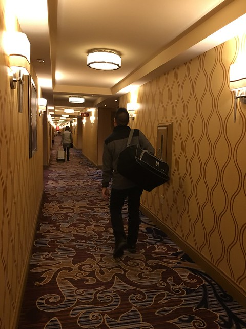 leaving Bellagio hotel