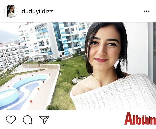 Aksaray Üniversitesi'nde öğrenci Dudu Yıldız, paylaştığı bu fotoğrafla beğeni topladı.