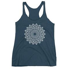 Mandala Tank Top, Mandala Gift, Mandala T Shirt, Mandala Boho Shirt, Mandala Print Shirt, Mandala TShirt, Hippie Mandala Tee, Mandala Patter by 25VintagePlace