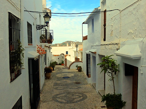 <Callejón del Agua> Frigiliana (Málaga)