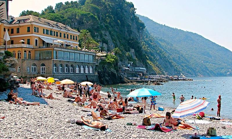 Camogli Italian fishing village tourist resort