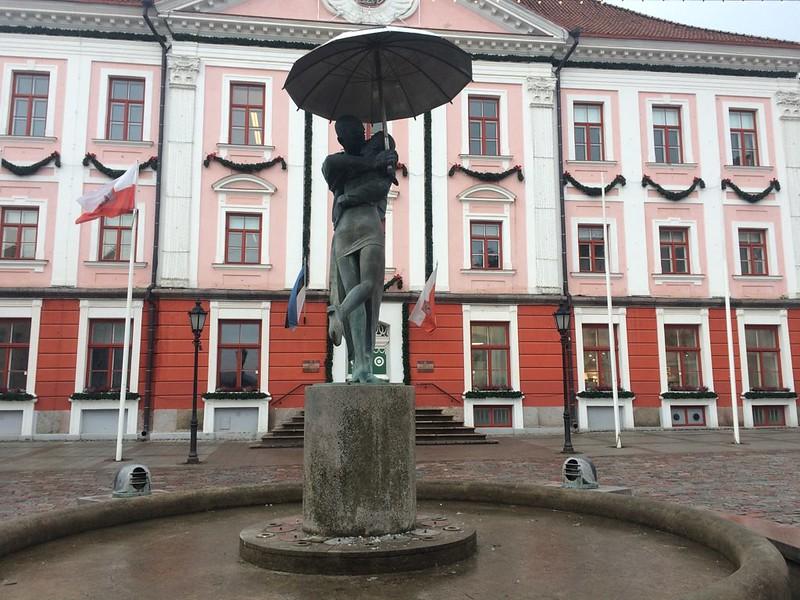 Зимний день в Тарту