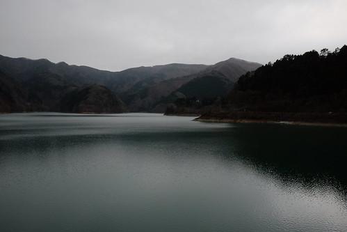 Lake Okutama Ogouchi dam reservoir 01