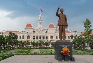 Ho Chi Minh city parc Saigon