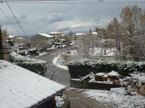 Snijeg je zabijelio brijeg – Gornji liburnijski krajevi probudili se pod bijelim pokrivačem @ Učka, Bregi