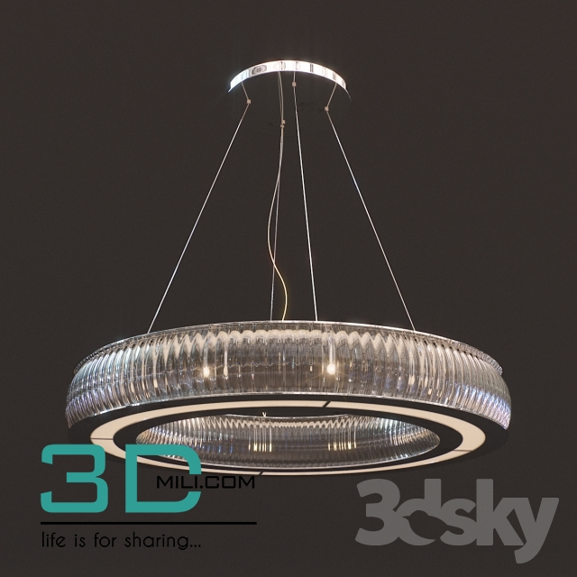 311. Ceiling light 311 3D Models Free Download - 3D Mili - Download ...