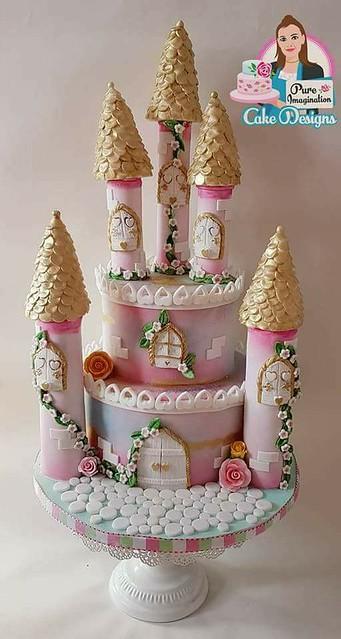 Cake for a Princess by Natalie Burnett of Pure Imagination Cake Designs