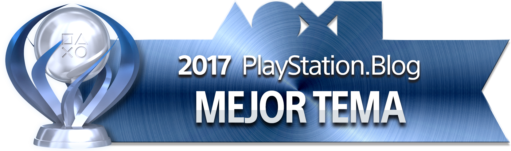 PlayStation Blog Game of the Year 2017 - Best PS4 Theme (Platinum)