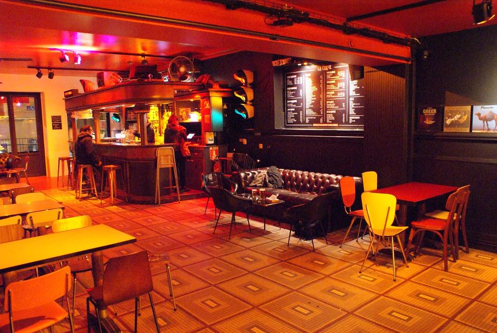 Bar et concerts à la Grooverie sur les pentes à Lyon.