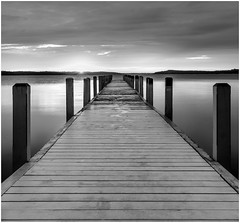 Sunrise at the Lake By Larry Kmiecik Award & Monochrome Print Of The Month Dec. 2017