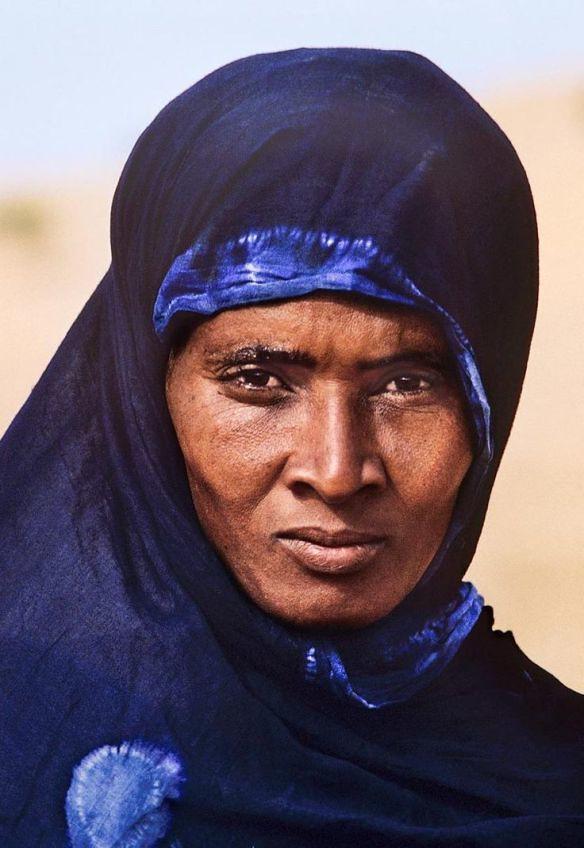 10.- Mulher tuareg, nómada, Gao, Mali,1996