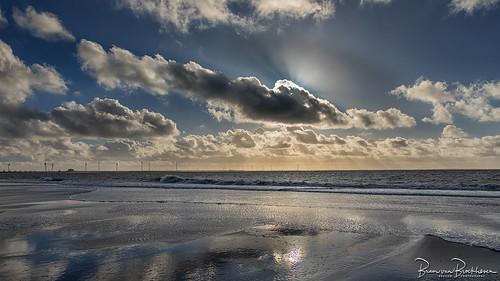 Beach, Sea and Clouds, Westenschouwen