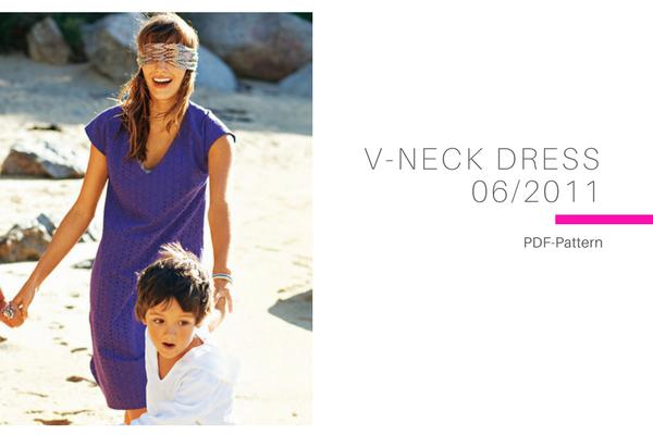 V Neck Dress 062011