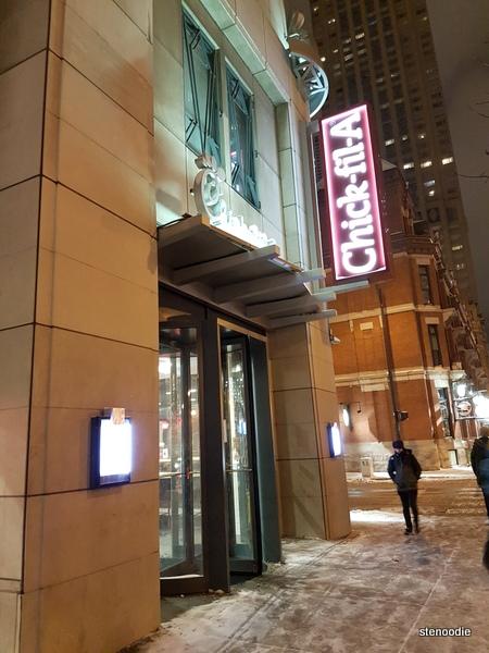 Chick-fil-A storefront