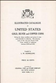 CCS Catalog 1934 - title page