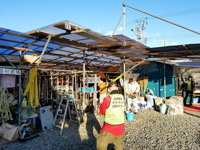 南相馬市小高区で復興ボランティア(援人 2017年 1222便)