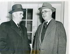 CIO chief meets with Labor Secretary Schwellenbach: 1946