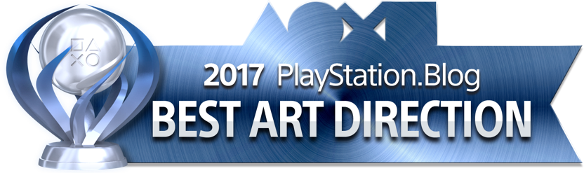 PlayStation Blog Game of the Year 2017 - Best Art Direction (Platinum)