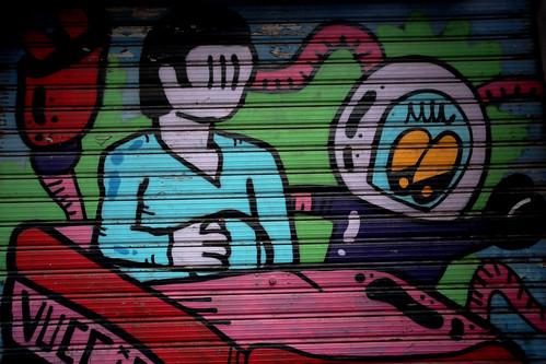 La street art del centro