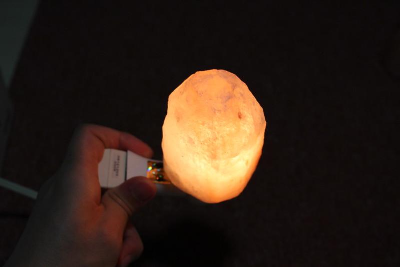 Tomshine ヒマラヤ産岩塩ライト 開封レビュー (33)