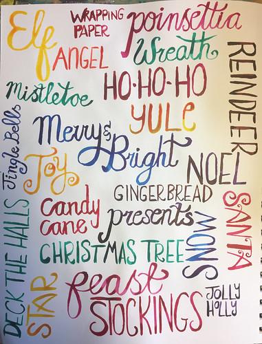 50 - Festive Words
