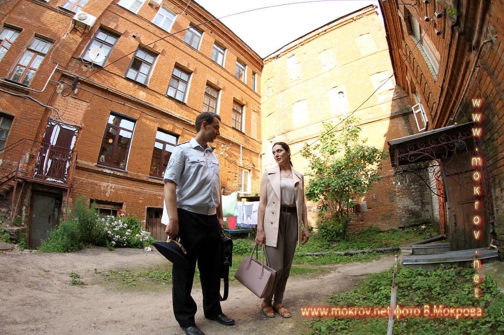 На съемках Телесериала Фотографии со съемок 1-го сезона сериала «Морозова»