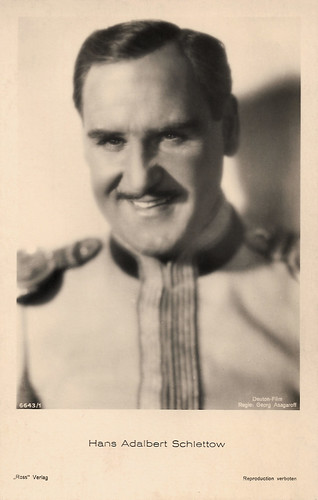 Hans Adalbert Schlettow in Der tolle Bomberg (1932)