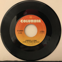 CHERYL LYNN:GOT TO BE REAL(RECORD SIDE-B)