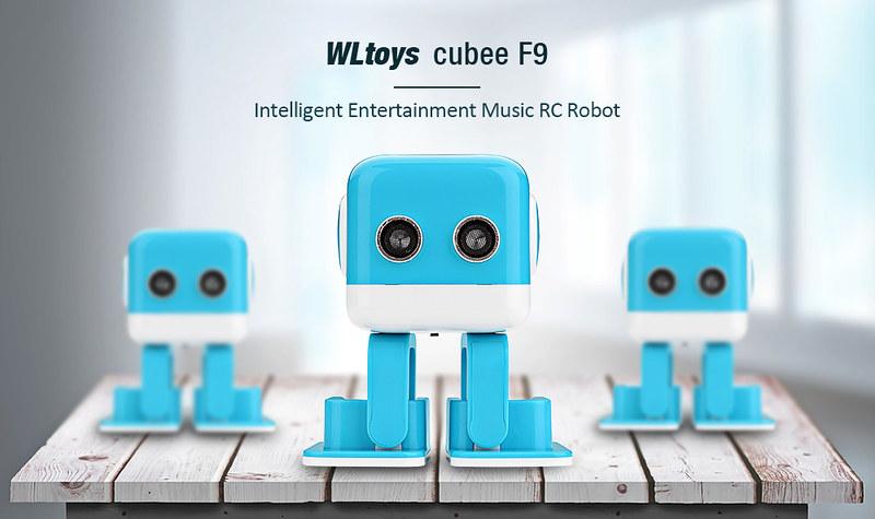WLtoys WL Tech Cubee F9 フォトレビュー (3)