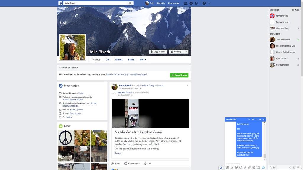 helle biseth facebook 1