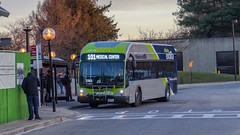 Montgomery County Transit Ride On extRa 2017 Gillig Low Floor BRT Plus Diesel #44071D