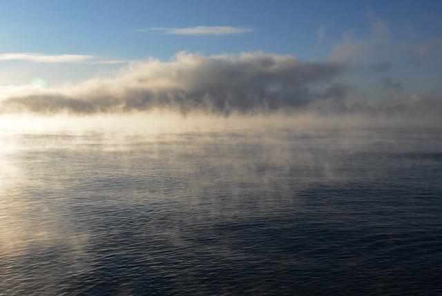 Lake Superior Steaming