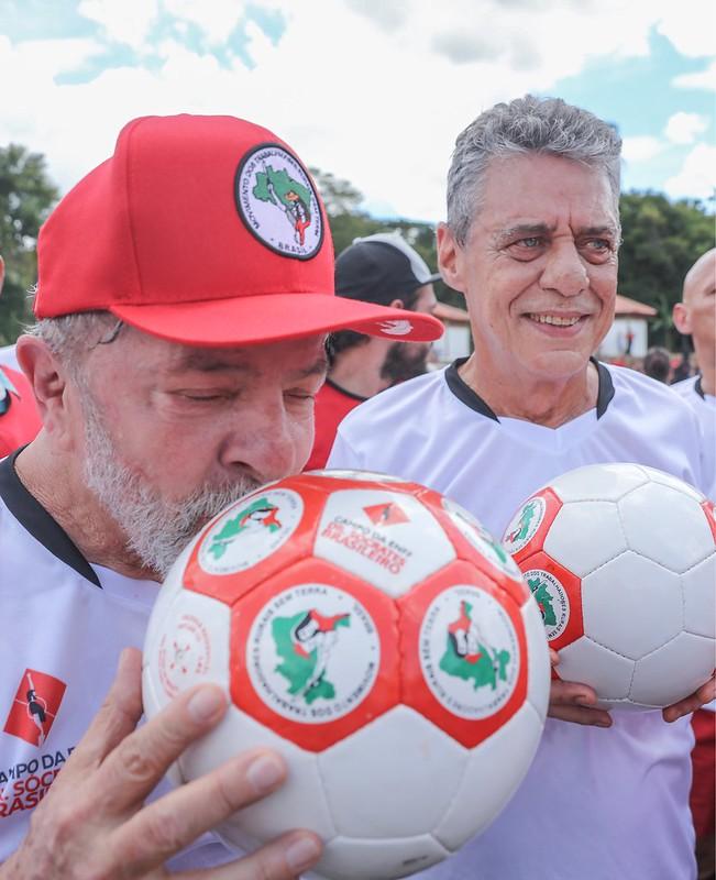 Inauguração do campo Dr. Sócrates Brasileiro, em Guararema