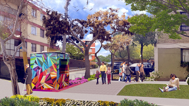 Mejoramiento Ruta Accesible - Barrio Conjunto Nuevo Horizonte – San Joaquín