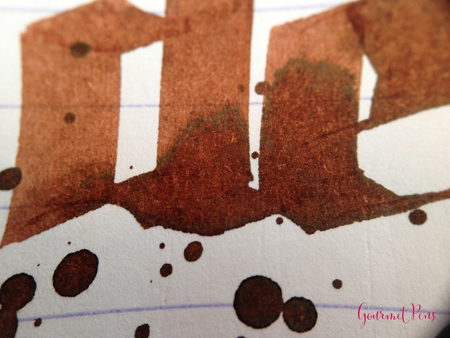 Ink Shot Review J. Herbin Café des îles @KnightsWritingC 8