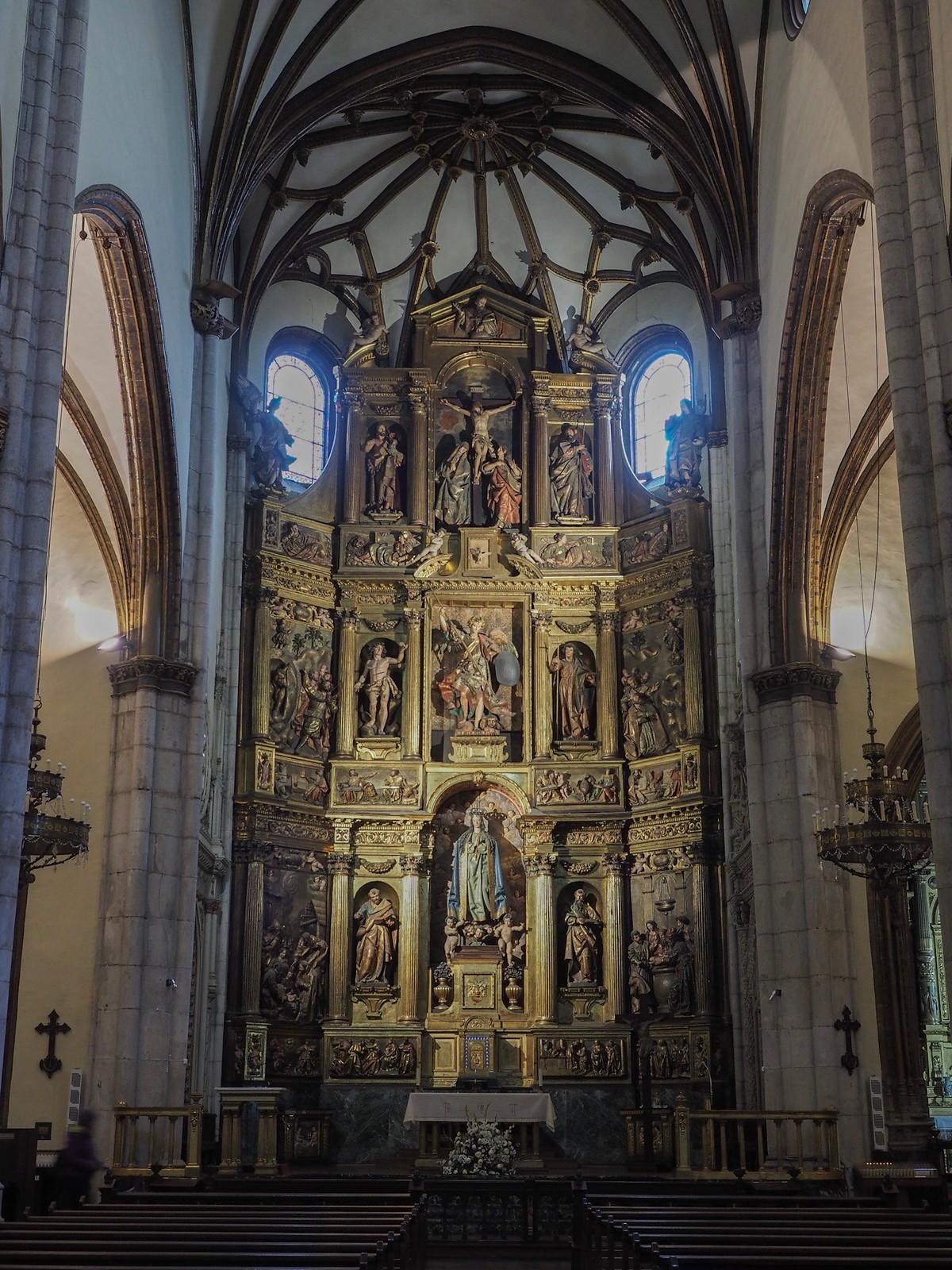 San Miguel church Vitoria-Gasteiz