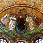 Christ Apse Mosaic  - San Vitale  - Ravenna DSC01306