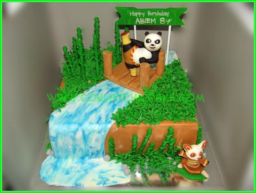 Cake Kungfu Panda - ABIEM