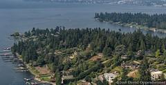 Evergreen Point Aerial in Medina, Washington