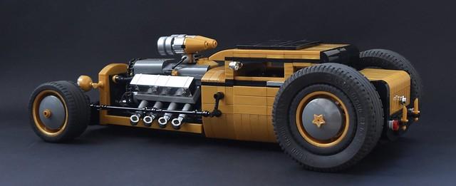 Super Charged V8 Hot Rod