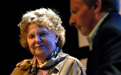 Muriel Spark and Alan Taylor - Edinburgh International Book Festival
