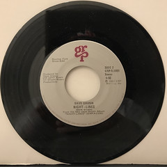 DAVE GRUSIN:THEME FROM ST. ELSEWHERE(RECORD SIDE-B)
