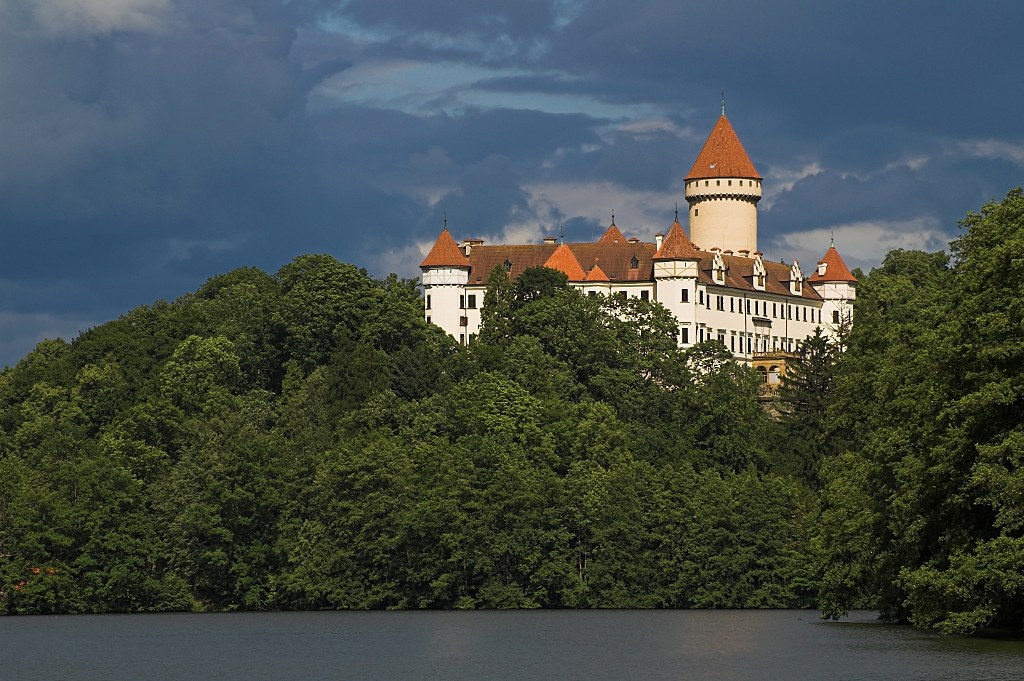 Château Konopiště in Bohemia – summer residence of Franz Ferdinand and his family