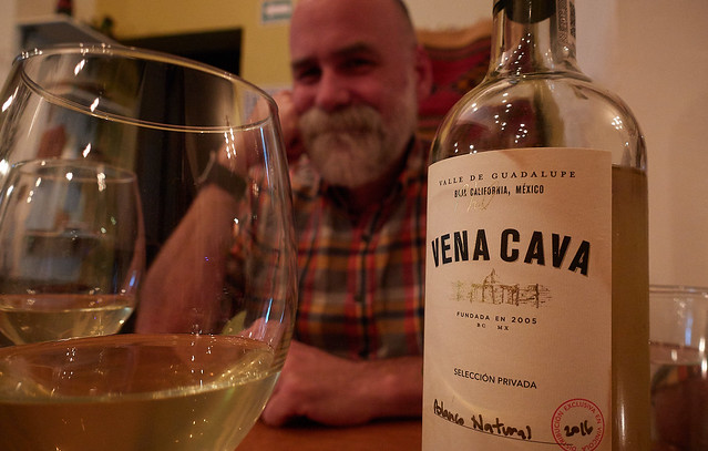 Farewell dinner with a faraway and local wineg