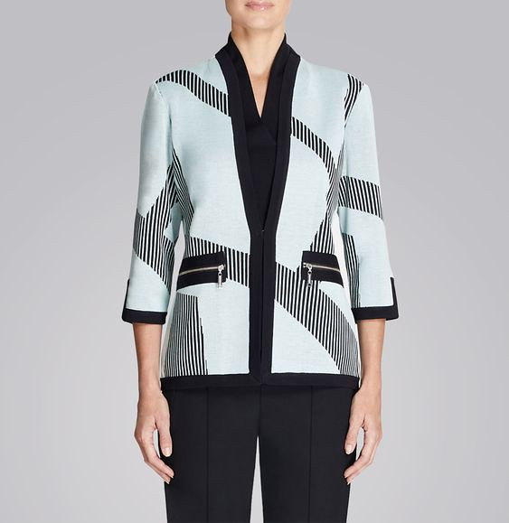 GRAPHIC MINT JACKET