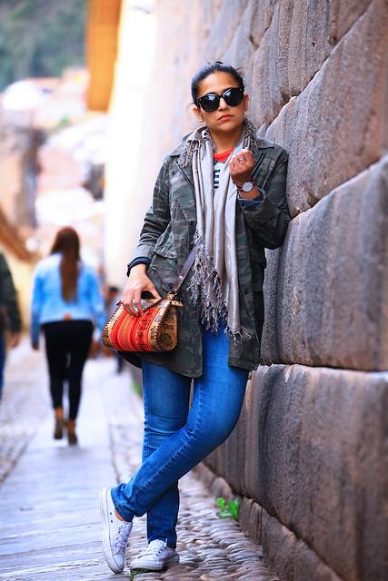 Camo, Jeans, Peru, Converse Tanvii.com