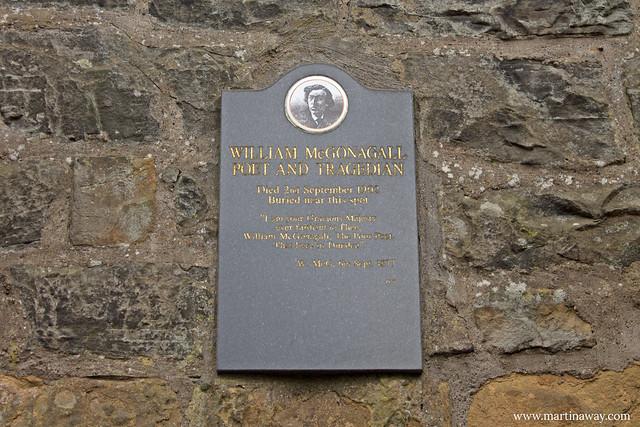 Tomba del poeta McGonagall al Greyfriars Kirkyard
