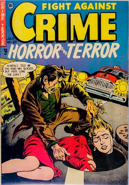 Story Comics - Fight Against Crime No.20 - 1954-07