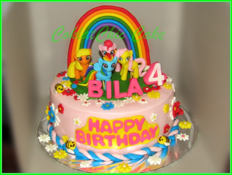 Cake My Little Pony BILA 15cm