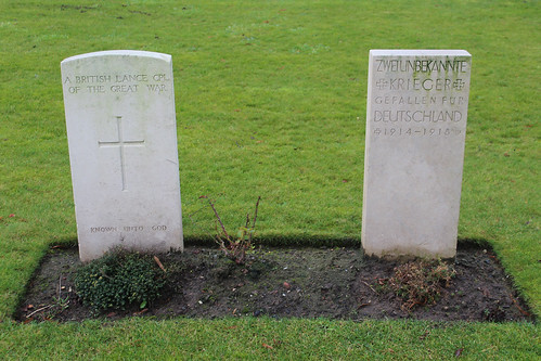 Ypres Town Commonwealth War Graves Cemetery and Extension - Ypres, Belgium, Friday 29th December 2017 | by CDay86